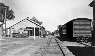 Jericho Railway Station, March 1938