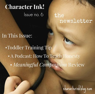 Character Ink Newsletter no. 6