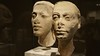 The royal couple: Akhenaten and Nefertiti, Pharao and Queen of Egypt, Neues Museum, Berlin