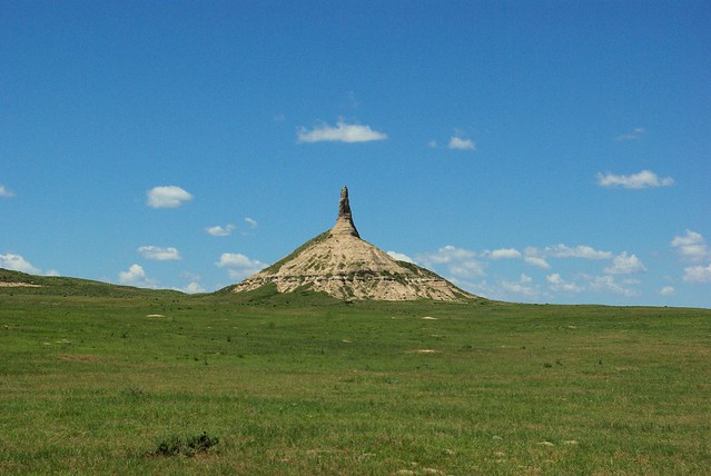 Chimney Rock National Historic Site, Nebraska, July 9, 2010