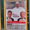 Altamira y Ramal agradecen al papa Francisco en este cartel en Gurruchaga al 400 cc @zonarojas