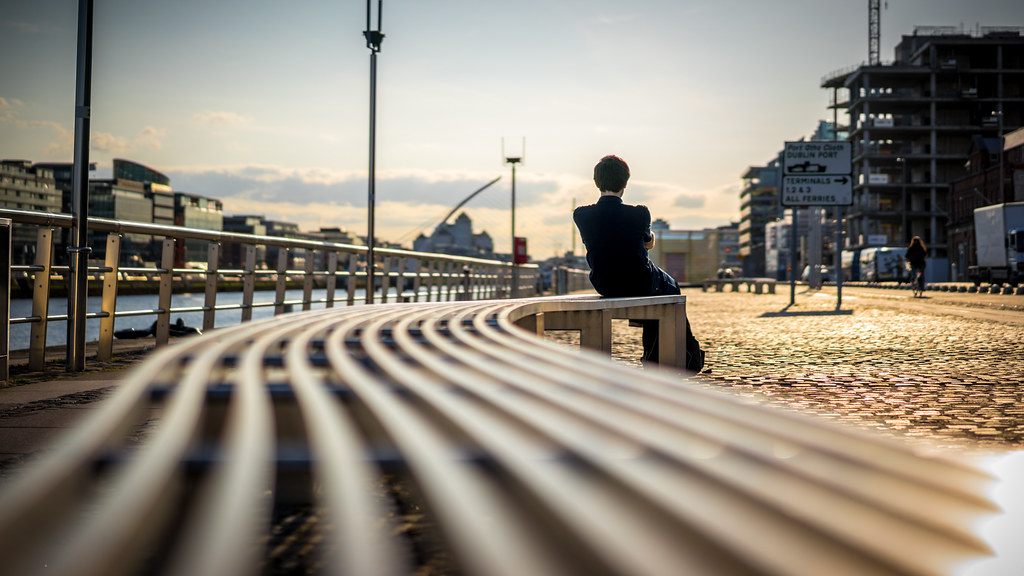 Lost in thoughts, Dublin, Ireland picture