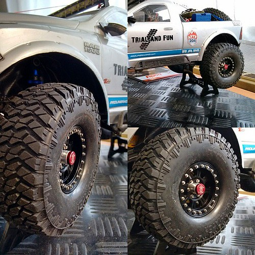 New Tires and rims for my #vaterra #ascender #rc4wd #gladiator #raceline #asts #recong6 #austria #ready