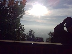 View from inside Teahouse - Sunrise