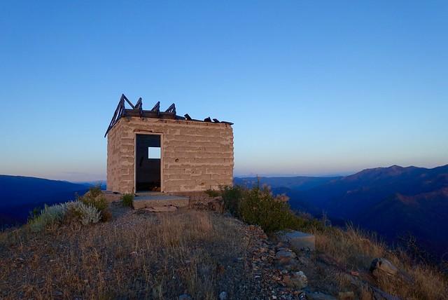 Lower Devils Peak Lookout, Seiad Valley