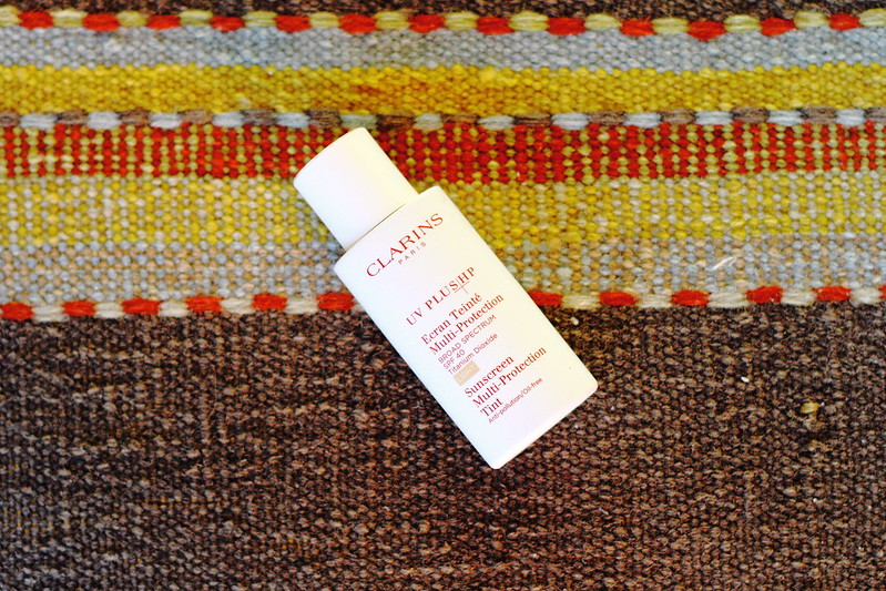 summer essential: Clarins tinted sunscreen