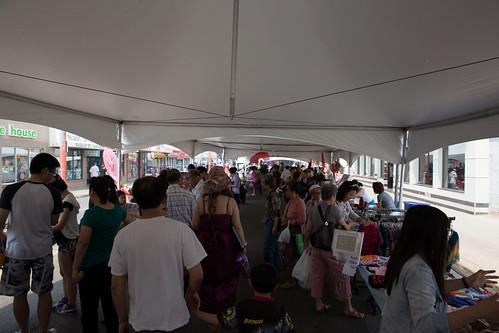 Summer Market in Chinatown