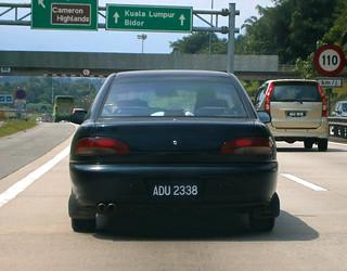 1999 Proton Putra 1.8 2-door coupé