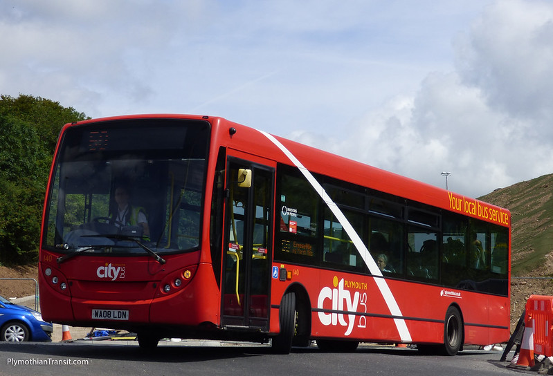 Plymouth Citybus 140 WA08LDN