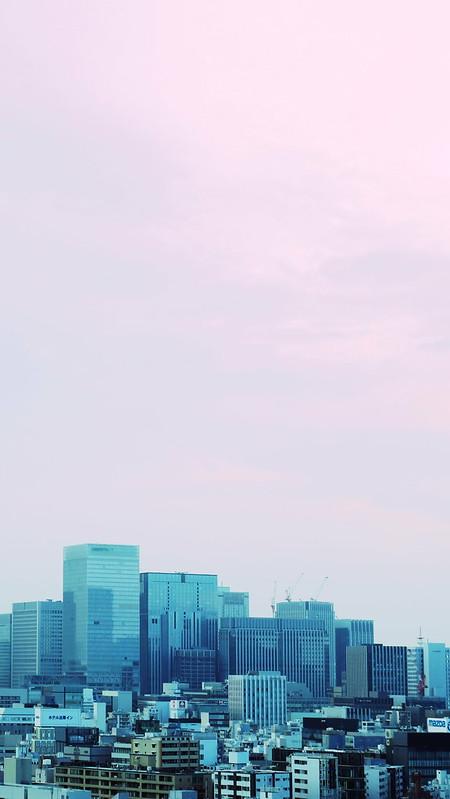 Creative shot Tokyo Summer Sky 04
