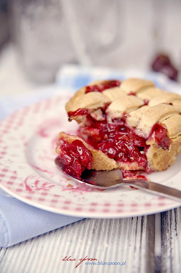 cherry pie - przepis i zdjęcia