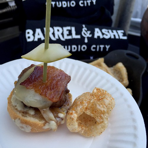 Barrel & Ashes at LA Weekly's Burgers and Beer