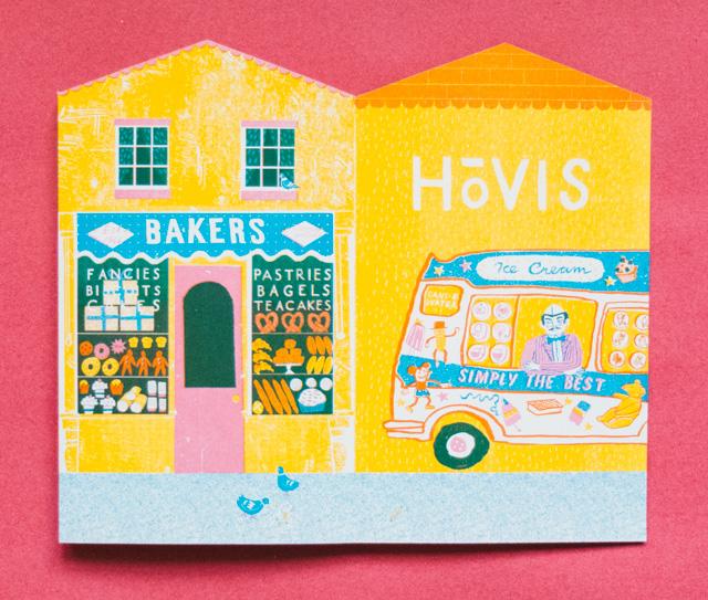 up my street - bakery and ice cream van