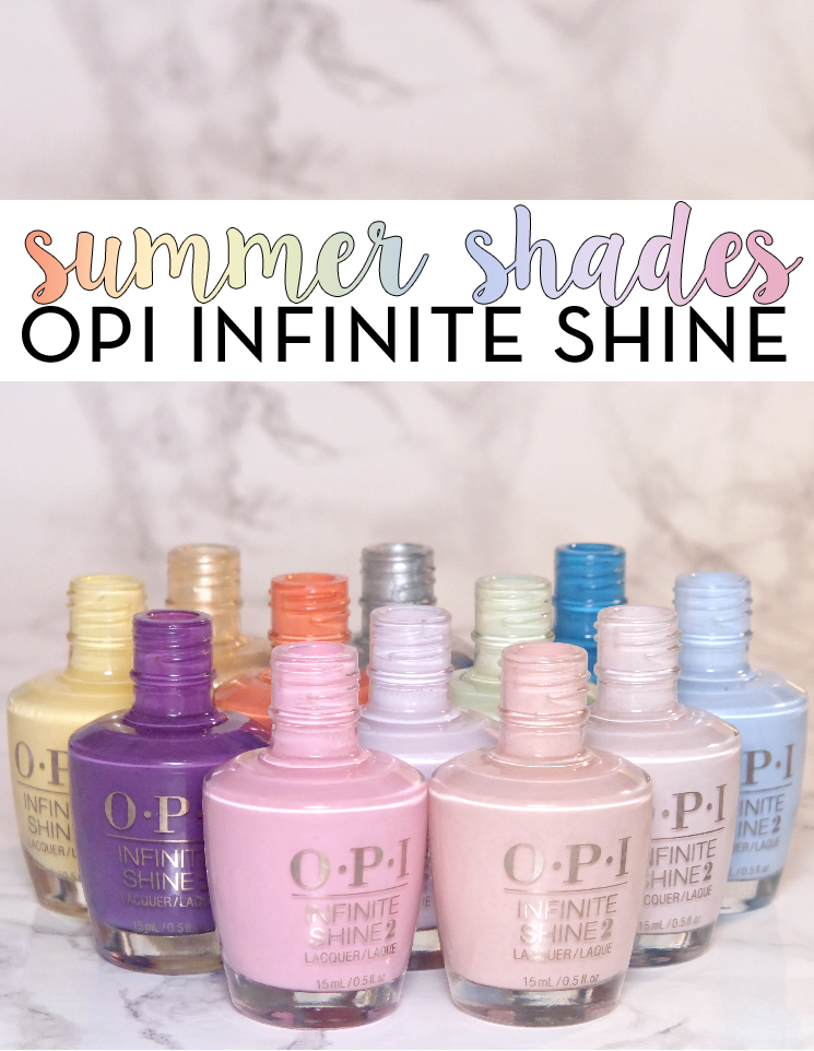 OPI infinite shine summer 2015
