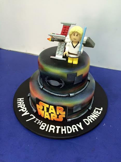 Starwars Cake by Reymond Regala of A&C cake's