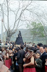 """Laino Borgo (CS), 1974, Rappresentazione """"La Giudaica""""."""