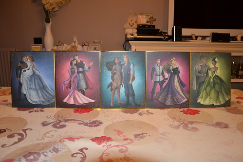 Collection Fairytale Designer Lithographie Disney