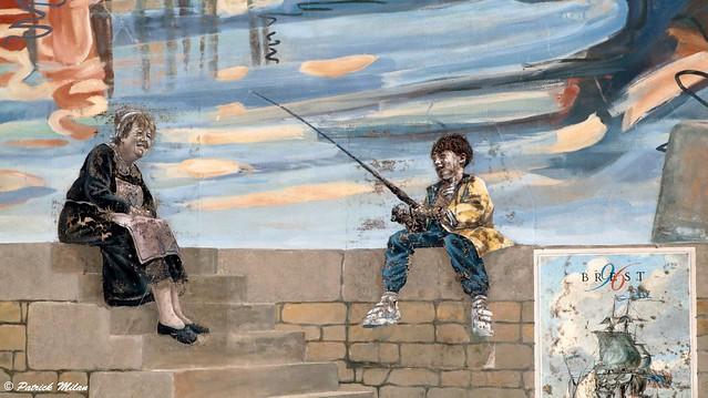 Street art - Brest port