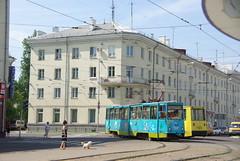 Angarsk tram 71-605 162