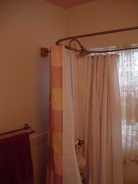 clawfoot tub shower flickr photo sharing