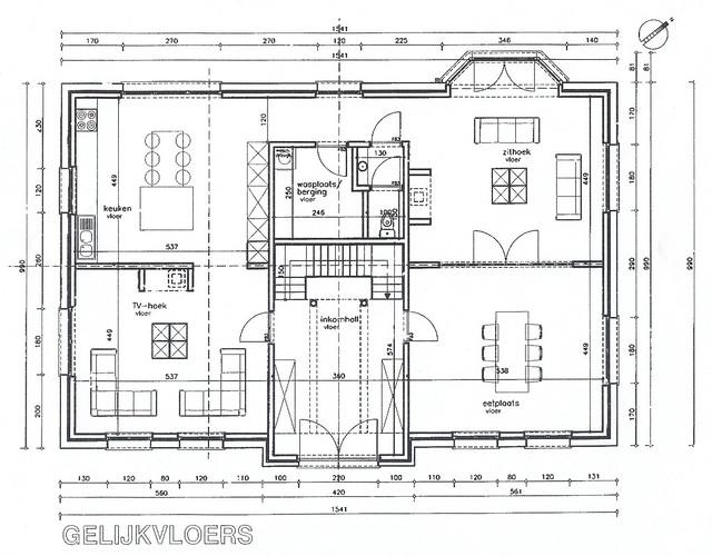 House plans ground floor the proposed ground floor for for Progressive farmer house plans