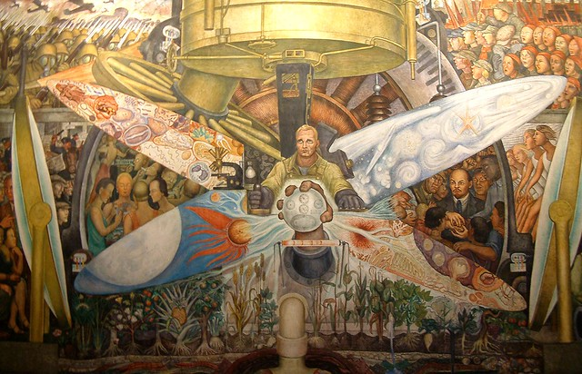 the famous diego rivera mural flickr photo sharing