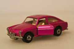 Tiny Pink Car, Macro.