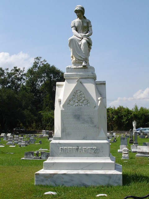Christian Schwartz Monument, Natchez City Cemetery, Natchez MS