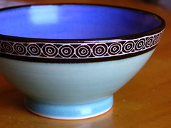 dishware, purple, blue and white porcelain, bowl, cobalt blue, tableware, mixing bowl, blue, porcelain,