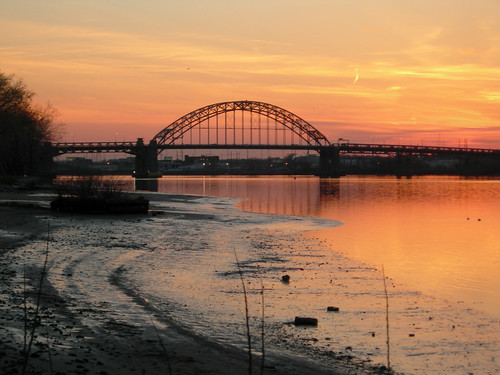 bridge sunset orange freeassociation river newjersey palmyranj diamondclassphotographer flickrdiamond resnow777guessed photodomino658 photodomino807
