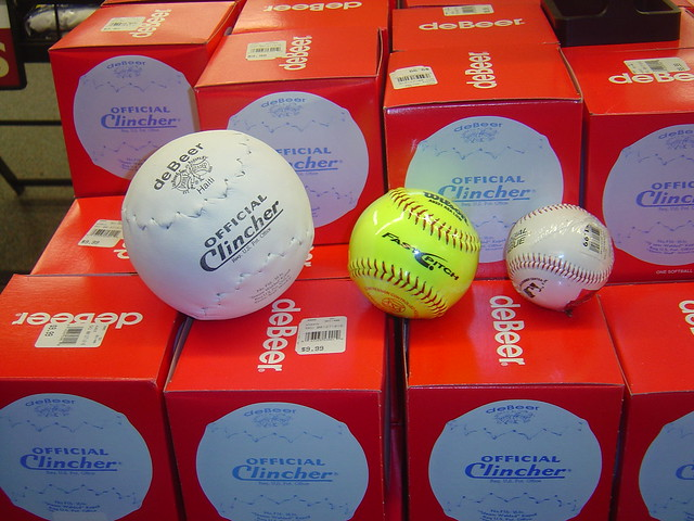 Baseball vs. Softball
