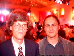 ken emery and sean dreilinger @ the cnet holiday par…