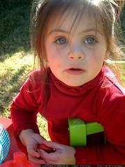 olivia playing outside   dscf1377