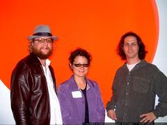 daniel and friends in the CNET lobby   dscf6004