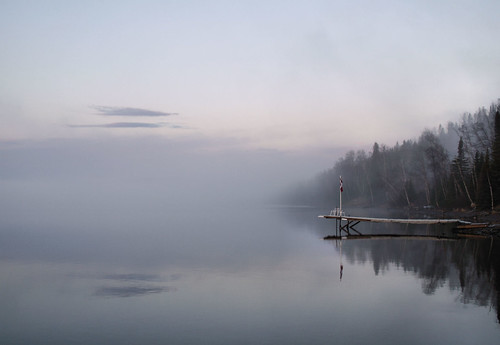 Dock in the Mist