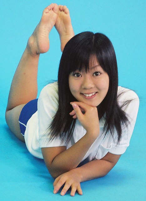 Hot asian toes