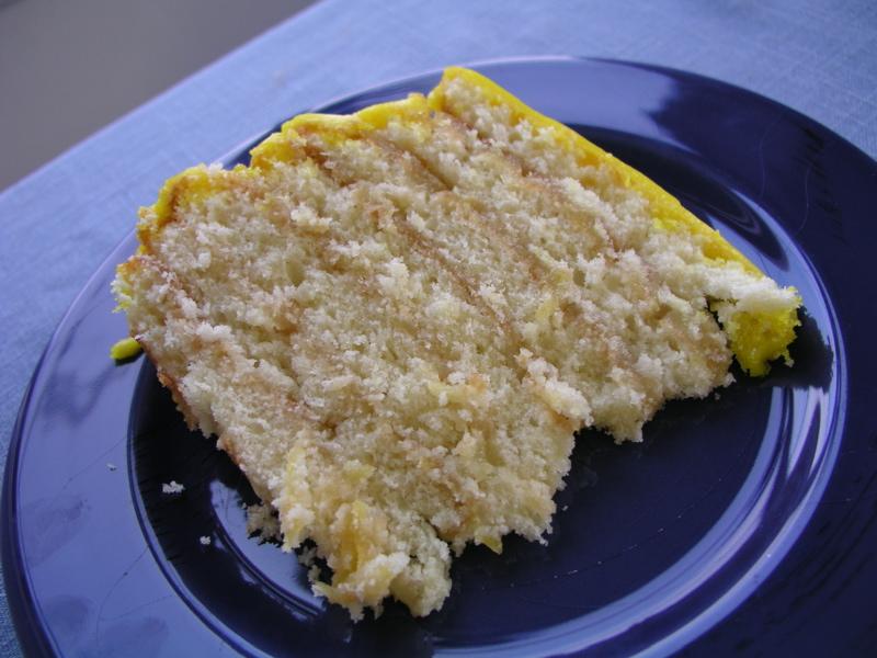 Lemon Doberge Cake New Orleans