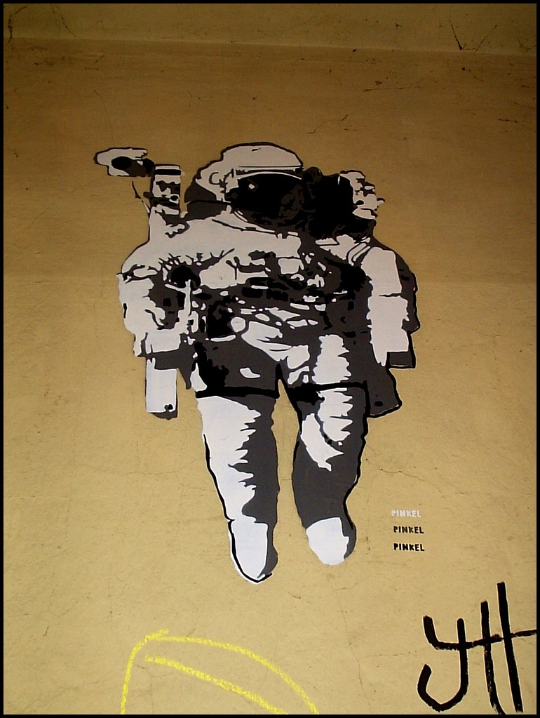 simple astronaut stencil - photo #15