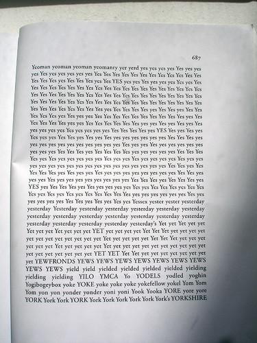Simon Popper reordered Ulysses's words alphabetically