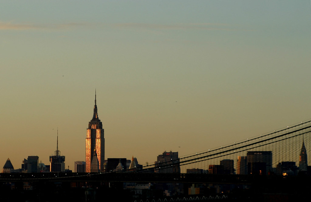 empire state building sunset - photo #39