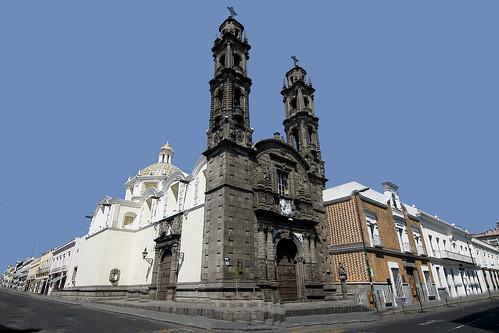 Retablos on altar, Puebla, Mexico