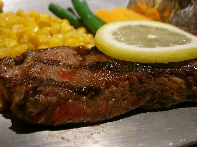 Sirloin steak @ Chako サーロインステーキ(チャコ, 東銀座)