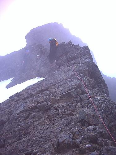 The Ridge to  Sgurr Mhic Choinnich (948m)