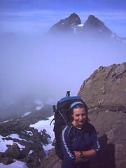 Sgurr Alasdair (992m) from Sgurr Dubh Mor (944m)