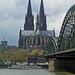Kölner Dom und Hohenzollernbrücke • Cologne Cathedral and Hohenzollern Bridge