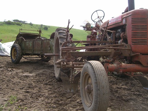 Farming Equipment Sold to Pay Estate Tax