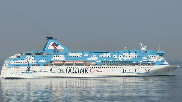 Tallink Galaxy cruiseferry, Tallinn