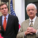 Small photo of Mark Warner and Leonard Boswell
