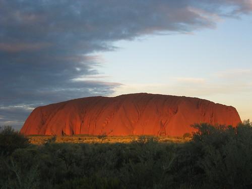ayers rock la roca sagrada de australia