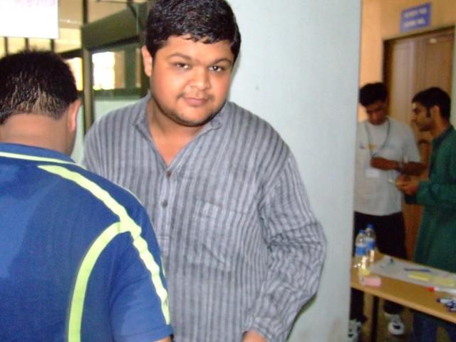 Header of Abhishek